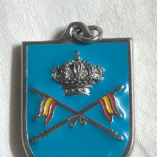 Militaria: LLAVERO CABALLERÍA REGIMIENTO CAZADORES DE LUSITANIA. Lote 279379808