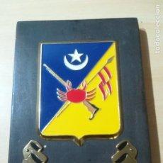 Militaria: METOPA MILITAR GRUPO NÓMADA II CAPITÁN LA GANDARA. Lote 280337538
