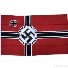 Militaria: BANDERA REICHSKRIEGSFAHNE 90 X 150 CM ALEMANIA TERCER REICH PARTIDO NAZI WEHRMACHT. Lote 285804648