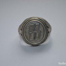 Militaria: WWII THE GERMAN RING WAFFEN SS. Lote 287370568