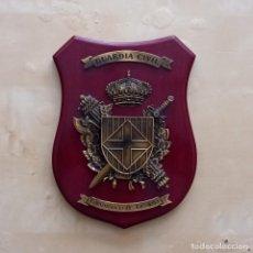 Militaria: METOPA ESCUDO COMANDANCIA GUARDIA CIVIL BARCELONA. Lote 287814863