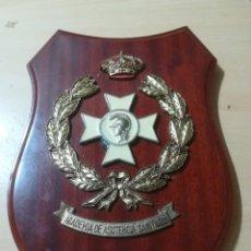 Militaria: ACADEMIA DE ASISTENCIA SANITARIA / METOPA, PLACA / / AL15. Lote 288387393
