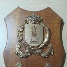 Militaria: REGT ACORAZADO CABALLERIA ALMANSA Nº 5 / METOPA, PLACA / / AL15. Lote 288387828
