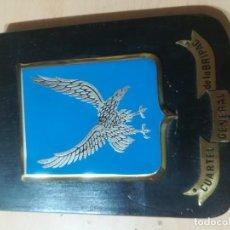 Militaria: CUARTEL GENERAL DE LA BRIPAC / METOPA, PLACA / / AL93. Lote 288402698