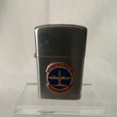 Militaria: MECHERO DE GASOLINA DEL BUQUE USS. HOLLAND AS-32. Lote 290104873