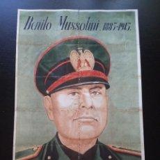 Militaria: PLIEGO CON CUPONES DE RACIONAMIENTO, BENITO MUSSOLINI. BEJAR, SALAMANCA.. Lote 292106598