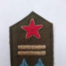 Militaria: GALÓN TENIENTE REPUBLICANO ESTADO MAYOR GUERRA CIVIL ESPAÑOLA. RECREACIÓN. REPÚBLICA. Lote 294555228