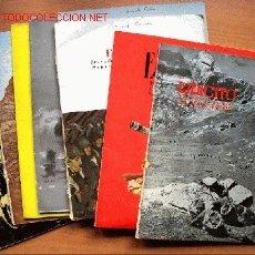 Militaria: LOTE 8 REVISTAS EJÉRCITO AÑO 1956. Nº 192, 193, 194, 195, 196, 197, 198 Y 202. Lote 24412130