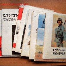 Militaria: LOTE 9 REVISTAS EJÉRCITO AÑO 1957. Nº 204, 205, 206, 207, 208, 209, 211, 212 Y 213. Lote 24412125