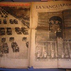 Militaria: DIARIO LA VANGUARDIA AÑO 1939 - FIESTA DE LA VICTORIA EN MADRID. Lote 31442324