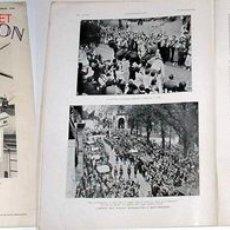 Militaria: REVISTA FRANCESA L´ILLUSTRATION 1936 CON ARTICULO Y FOTOS INEDITAS SOBRE LA GUERRA CIVIL ESPAÑOLA. Lote 9218918