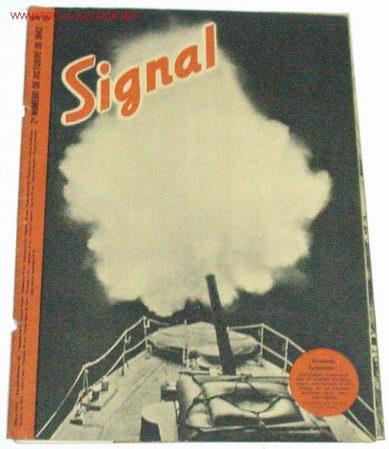 REVISTA SIGNAL - OCTUBRE DE 1942 (Militar - Revistas y Periódicos Militares)