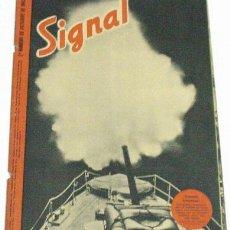 Militaria: REVISTA SIGNAL - OCTUBRE DE 1942. Lote 749733