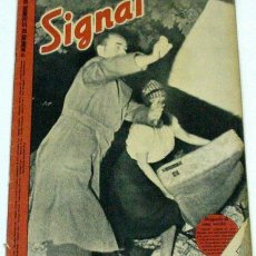 Militaria: REVISTA SIGNAL - SEPTIEMBRE DE 1943. Lote 609286