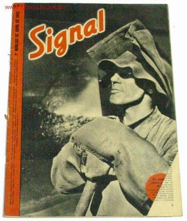 REVISTA SIGNAL - ABRIL DE 1942 (Militar - Revistas y Periódicos Militares)