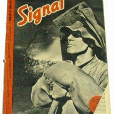 Militaria: REVISTA SIGNAL - ABRIL DE 1942. Lote 889168