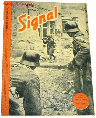 REVISTA SIGNAL - MARZO DE 1942 (Militar - Revistas y Periódicos Militares)