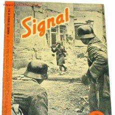 Militaria: REVISTA SIGNAL - MARZO DE 1942. Lote 699592