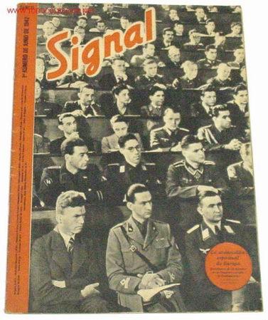 REVISTA SIGNAL - JUNIO DE 1942 (Militar - Revistas y Periódicos Militares)