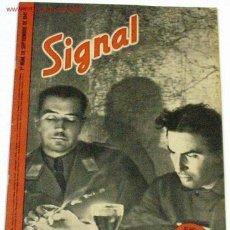 Militaria: REVISTA SIGNAL - SEPTIEMBRE DE 1941. Lote 885205