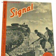 Militaria: REVISTA SIGNAL - OCTUBRE DE 1942. Lote 885204
