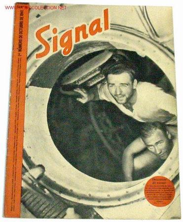 REVISTA SIGNAL - OCTUBRE DE 1941 (Militar - Revistas y Periódicos Militares)
