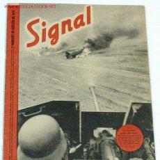 Militaria: REVISTA SIGNAL - AGOSTO DE 1941. Lote 881226