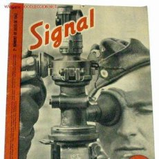 Militaria: REVISTA SIGNAL - JULIO DE 1942. Lote 856768