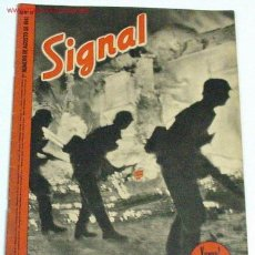 Militaria: REVISTA SIGNAL - AGOSTO DE 1941. Lote 11187122