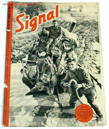 REVISTA SIGNAL - SEPTIEMBRE DE 1941 (Militar - Revistas y Periódicos Militares)