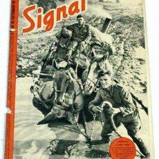 Militaria: REVISTA SIGNAL - SEPTIEMBRE DE 1941. Lote 885202