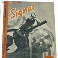 Militaria: REVISTA SIGNAL - MAYO DE 1942. Lote 25493556