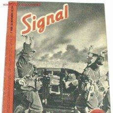Militaria: REVISTA SIGNAL - NOVIEMBRE DE 1941. Lote 699593