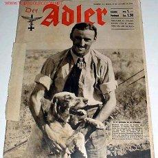 Militaria: ANTIGUA REVISTA ALEMANA ADLER - Nº 21 - 20 OCTUBRE 1942. Lote 749737