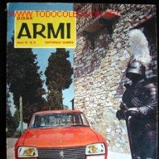 Militaria: DIANA ARMI, Nº5 AÑO 4º - REVISTA DE ARMAS ITALIANA. Lote 13822237