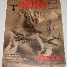 Militaria: ANTIGUA REVISTA DER ADLER HEFT 10 - BERLIN 20 MAYO 1941 - 33 X 26 CMS. - 29 PAGINAS. Lote 581143