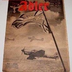 Militaria: ANTIGUA REVISTA DER ADLER HEFT 12 - BERLIN 17 JUNIO 1941 - 33 X 26 CMS. - 29 PAGINAS. Lote 581146