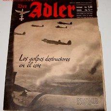 Militaria: ANTIGUA REVISTA DER ADLER HEFT 15 - BERLIN 29 JULIO 1941 - 33 X 26 CMS. - 29 PAGINAS. Lote 581156