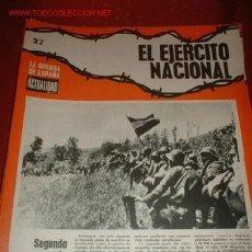 Militaria: REVISTA LA ACTUALIDAD, LA GERRA DE ESPAÑA Nº 27. Lote 636334