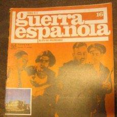 Militaria: CRÓNICA DE LA GUERRA ESPAÑOLA Nº 16. Lote 3231575