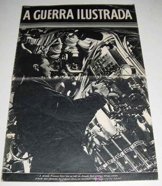 A GUERRA ILUSTRADA - REVISTA DE PROPAGANDA ALIADA II GUERRA MUNDIAL - EDITADA POSIBLEMENTE EN INGLAT (Militar - Revistas y Periódicos Militares)