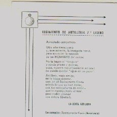 Militaria - Folleto conmemorativo del 7º Regimiento Ligero de Artilleria. 1936-1965. - 3785113