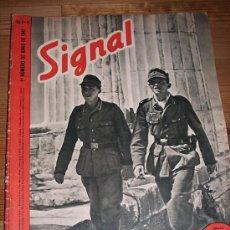 Militaria: 6 NÚMEROS REVISTA SIGNAL 1941. Lote 12464400