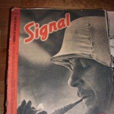 Militaria: 19 NÚMEROS REVISTA SIGNAL 1942. Lote 10923208