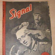 Militaria: REVISTA ALEMANA SIGNAL, 2º NÚMERO DE ABRIL DE 1942.. Lote 4580717
