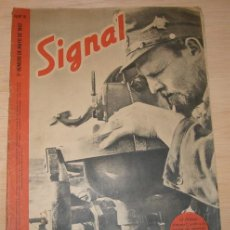 Militaria: REVISTA ALEMANA SIGNAL, 2º NÚMERO DE MAYO DE 1942. . Lote 4597473