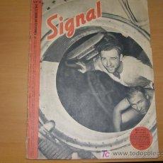 Militaria: REVISTA ALEMANA SIGNAL, 1º NÚMERO DE OCTUBRE DE 1941. . Lote 4598302