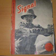 Militaria: REVISTA ALEMANA SIGNAL, 2º NÚMERO DE MARZO DE 1942. . Lote 4598691