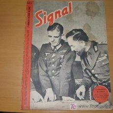 Militaria: REVISTA ALEMANA SIGNAL, 2º NÚMERO DE JUNIO DE 1942. . Lote 4598734