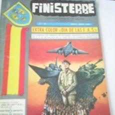 Militaria: REVISTA FINISTERRE, CAPITANIA GENERAL DE GALICIA, MAYO-JUNIO 1981. Lote 25096681